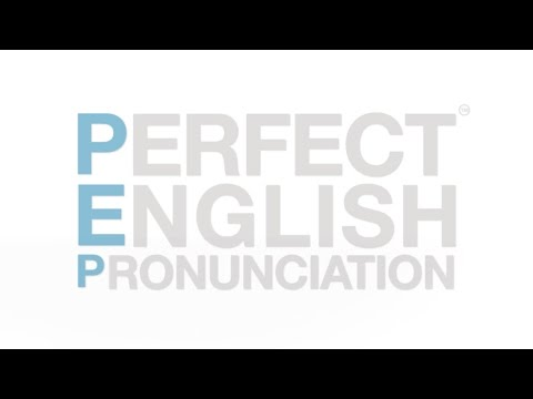 Video of Perfect English Pronunciation