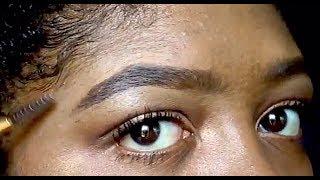 Natural Eyebrow Tutorial | Back To School Makeup 2017