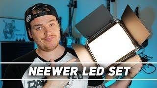 Der PREIS-LEISTUNGSKILLER? - Das Neewer dimmbares Bi-Farbe 660 LED Video Licht Set