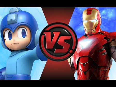 MEGA MAN vs IRON MAN! Cartoon Fight Club Episode 70