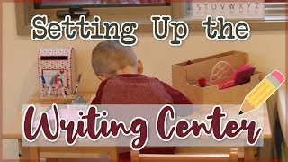How To Set Up Your Writing Center