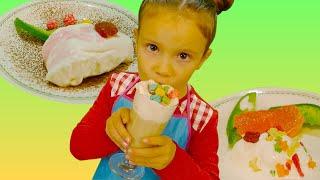 Простые рецепты с Китти: 3 рецепта с мороженым | Волшебница Китти