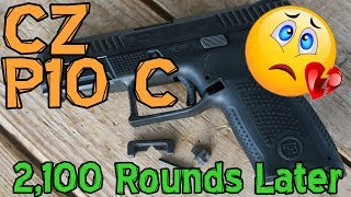 CZ P10 C Review After 2,100 Rounds | Not Duty/Carry Ready!