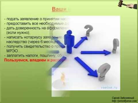 1. Пошаговая инструкция для получения наследства