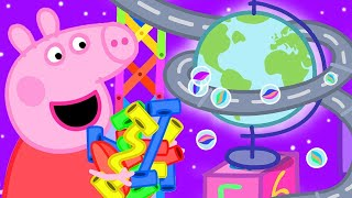 Peppa Pig Official Channel | Peppa Pig Marble Race Challenge