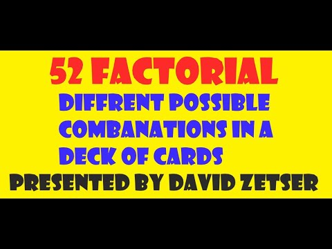 Combinations in a deck of cards