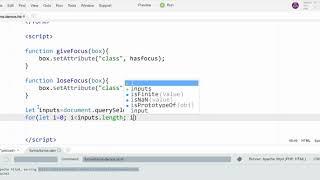 JavaScript - Changing Form Element Appearance on Focus/Blur