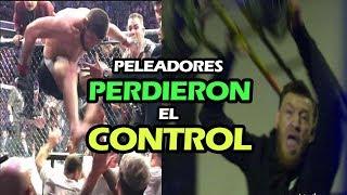 7 PELEADORES de UFC que PERDIERON EL CONTROL
