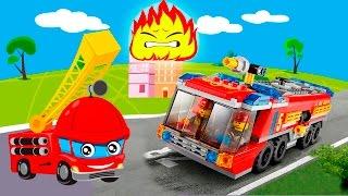 Мультики про машинки все серии подряд Пожарные машины в видео для детей. Сборник лучших мультфильмов