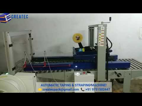 Automatic Taping And Strapping Machine