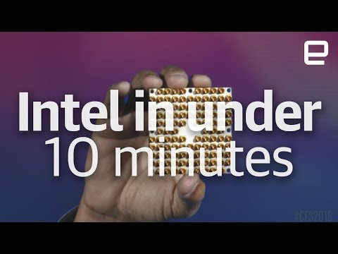 Intel's CES 2018 event in under 10 minutes (видео)