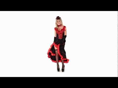 Disfraz de Bailarina de Moulin Rouge