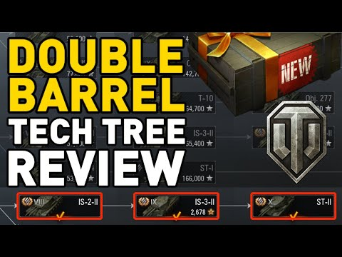 Double Barrel Tech Tree Review in World of Tanks