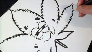 hmongbuynet  Graffiti Boceto Cmo dibujar un Porro  How to
