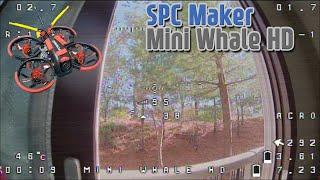 Cinewhoop FPV Indoor & Outdoor Flight : SPC Maker MinihWhale HD