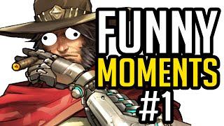 Overwatch Funny Moments #1 | Overwatch Смешные моменты