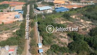 [A Large Strategic Location Land] 51 Acres Vacant Industrial Building Land in Kuantan, Pahang