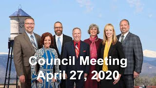 Preview image of Arvada City Council Meeting - April 27, 2020
