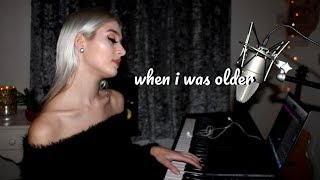 Billie Eilish - When I Was Older | Live Cover by Charlotte Hannah