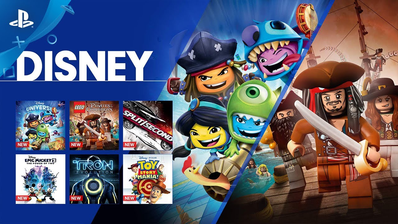 New on PS Now: 17 Disney Games Join the Game-Streaming Service