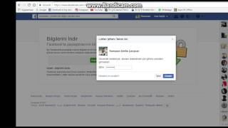 Facebook Verilerinin Kopyasını Indir.