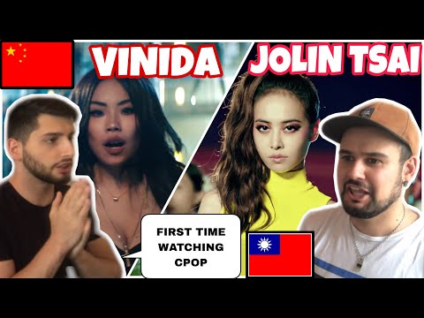 "Friend Reacting First Time CPOP- 蔡依林 Jolin Tsai ""消極掰 Life Sucks""& Vinida 万妮达 - 场上称霸(Run This)"