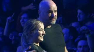 David Draiman Stops Disturbed Show Helps Sami Up On Stage After Mosh Pit Incident