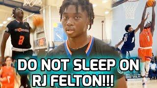 RJ Felton Is One Of The MOST SLEPT ON Hooper In C/O 2021! Noah Farrakhan's Future ECU Teammate!? 🗣️