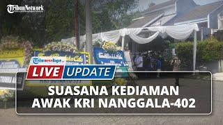 LIVE UPDATE: Suasana Terkini Kediaman Awak KRI Nanggala-402 di Kabupaten Bogor