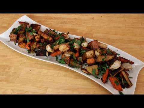 Roasted Winter Root Vegetables – Recipe by Laura Vitale – Laura in the Kitchen Ep 250