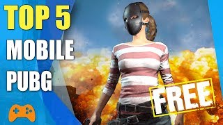Top 5 games like PUBG for Android and iOS - Free battle royale mobile games