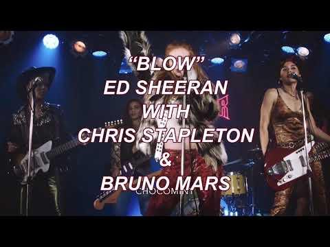 ★日本語訳★Blow - Ed Sheeran with Chris Stapleton & Bruno Mars