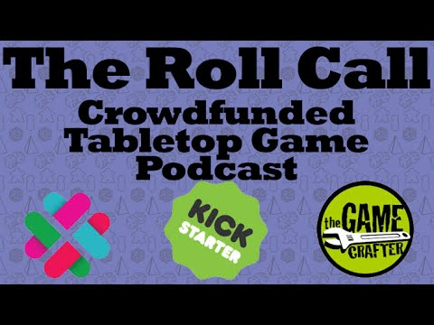 The Roll Call Podcast - The Infinite Board Game UnBoxing