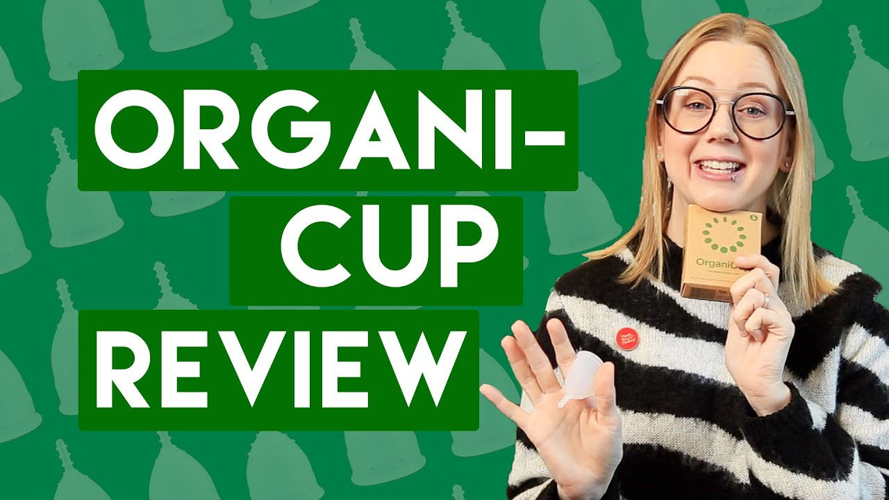 OrganiCup Review   with new OrganiCup Mini Comparisons