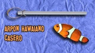 ✔ Cómo Hacer Un Arpón Hawaiano | How To Make A Hawaiian Harpoon