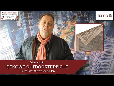 DEKOWE Outdoorteppich
