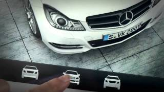 Mercedes-Benz Accessories: Augmented Reality Apps