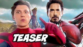 Spider-Man Far From Home Teaser Explained - Iron Man Suit
