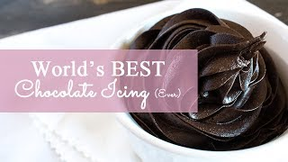 awesome chocolate cake frosting recipe
