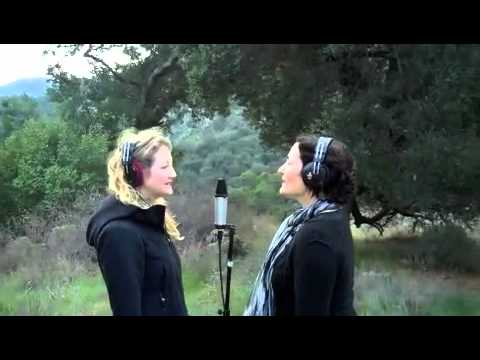 "Lily Wilson & Renee Stahl Recording ""Silver Bells"""