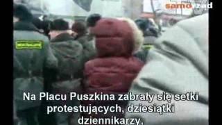"""""""Dzień gniewu"""" w Moskwie"""