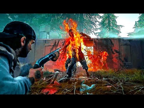 Days Gone Gameplay Trailer