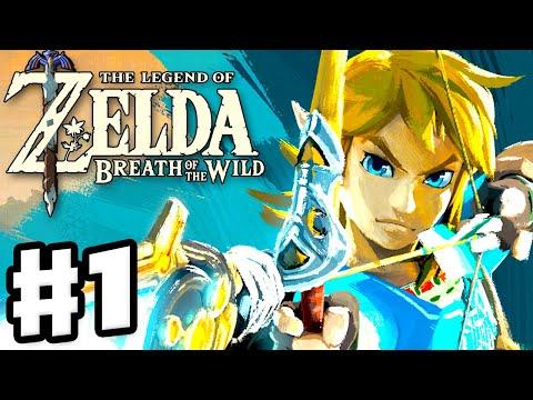 The Legend of Zelda: Breath of the Wild - Gameplay Part 1 - Link Awakens! (Nintendo Switch)