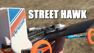 Hot Wheels Street Hawk - Land and Air - How High Can It Fly?