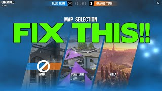 How to FIX the MAP BAN PROCESS!
