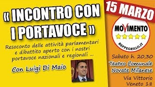 preview picture of video 'Incontro con i Portavoce #M5S a Novate Milanese'
