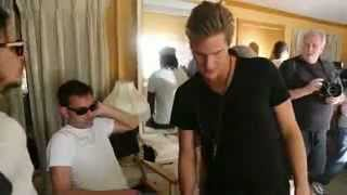 Basshunter - Northern Light (Behind The Scenes)