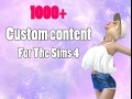 The sims 4 Custom Content pack 1000+ CC FOLDER★