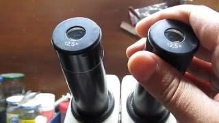 Как увеличить фокусное расстояние на микроскопе МБС-9,10