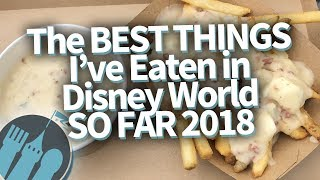 BEST Things I've Eaten IN Disney World In 2018!